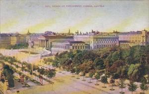 Aistria Vienna Wien House Of Parliament