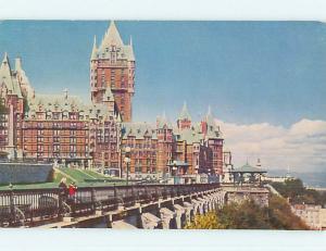 Unused Pre-1980 TOWN VIEW SCENE Quebec City QC p8811