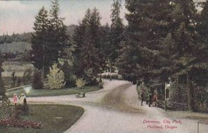 Oregon Portland Driveway City Park