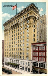 Minnesota Minneapolis Hotel Radisson 1917