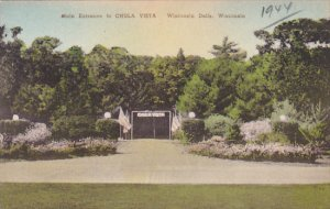 Main Entrance To Chula Vista Wisconsin Dells Wisconsin Albertype