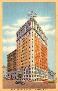 New York Albany The Ten Eyck Hotel 1964 Curteich