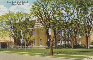 ROCK FALLS , Illinois , 1930-40s ; High School