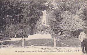 France Toul Le Monument commemoratif eleve a la Memoire des Victimes de la Gu...