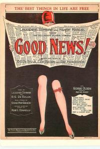 Old Vintage Postcards Advertizing Good News # 2444A