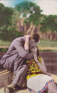 RP, Man & Woman Kissing, Couple, 1920-1940s (2)