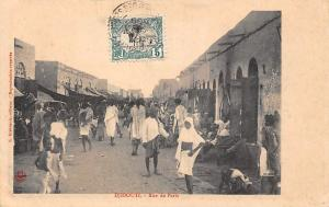 Djibouti Rue de Paris, Road, Natives, Animated Street 1909