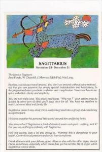 Sagittarius November 23 - December 21