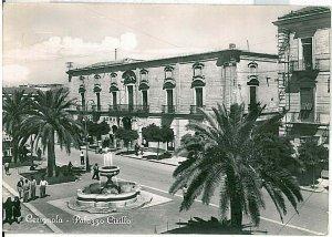 CARTOLINA d'Epoca - FOGGIA: Cerignola 1955