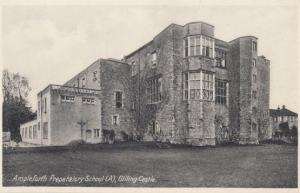 Ampleforth Preparatory School Gilling Castle Yorkshire Antique Postcard