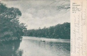 Picturesque Spot On Deal Lake Asbury Park New Jersey 1905