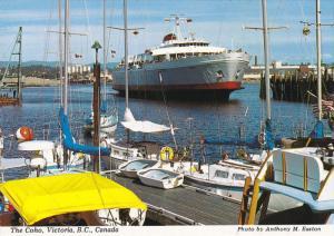 Ferry , The COHO , Victoria , B.C. , Canada , 50-70s