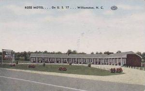 North Carolina Williamston Ross Motel