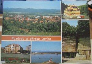 Slovakia Pozdrav Z Okresu Levice Pukanec Uhliska etc - unposted