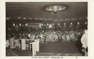 RP: SANTA CATALINA ISLAND , California , 1930-40s ; Casino Ballroom