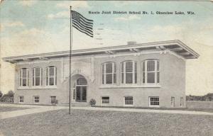 Exterior, Norris Joint District School No.1. Okauchee Lake,Wisconsin,PU-1923