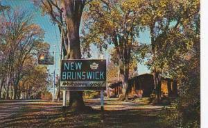 Canada New Brunswick Travel Bureau At St Stephen 1968