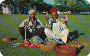 Singapore Indian Snake Charmers 1970