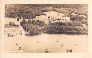 Moosehead Lake Maine Squaw Mountain Inn Real Photo Vintage Postcard AA25016