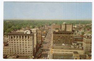 Aerial View Of Saginaw Street Looking North, Flint, Michigan's Main Street