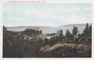 Annapolis Basin & Digby Gut , Nova Scotia , Canada , 1910s