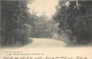Chillicothe Ohio~Hillside Landscape~1908 Rotograph Postcard A-4865
