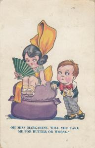 AS; DUDLEY BUXTON, 1900-10s; Children, Miss Margarine, Will You Take Me For But