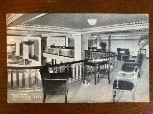 Mezzanine, Overlooking Lobby, Hotel Clark, Los Angeles, CA. D22