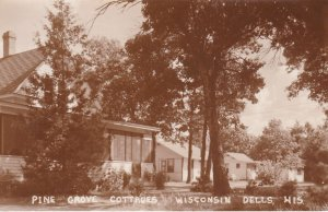 RP, Pine Grove Cottages, Wisconsin Dells, Wisconsin, 1920-1940s