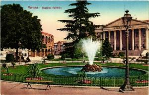 CPA VERONA Giardini Pubblici . ITALY (507745)