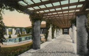 WINNIPEG , Manitoba,  1915 ; Pergola & Lily Pond , City Park