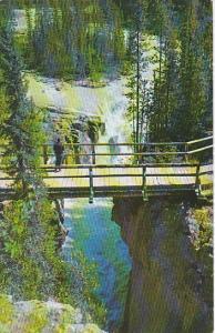 Canada Alberta Jasper Sunwapta Canton and Falls