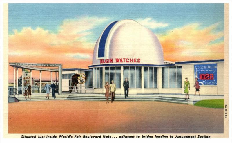 New York  World's Fair Elgin Watch Building