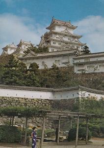 HYOGO , Japan , 1974 ; Himeji Castle
