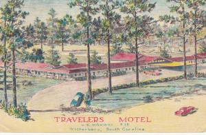 WINNSBORO , South Carolina, 50-60s ; Travelers Motel Motel