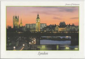 Houses of Parliament, London, unused Postcard