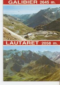 Postal 034003 : Col du Galibier. La Valle de la Guisane