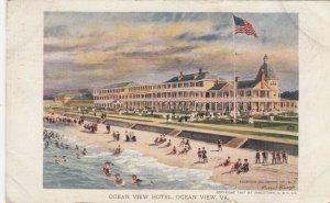 OCEAN VIEW, Virginia, 1907; Ocean View Hotel