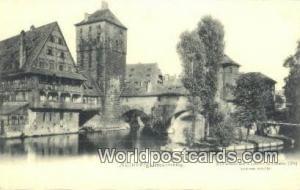 Nurnberg Germany, Deutschland Postcard Henkersteg  Henkersteg