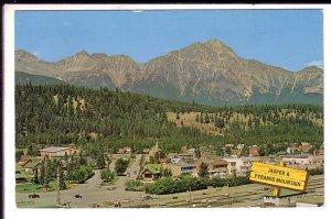 Village and Pyramid Mountain, Jasper, Alberta, Used 1965