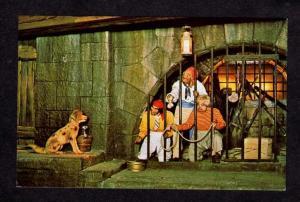 FL Pirates Dog Prison Disney World Amusement Park Orlando Florida Postcard