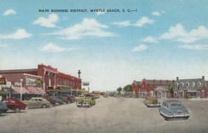 MYRTLE BEACH , South Carolina, 1930-40s : Main Business District