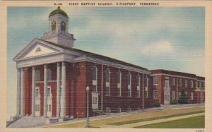 First Baptist Church, Kingsport, Tennessee, 1930-1940s