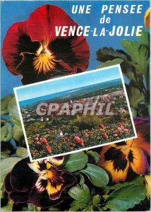 Postcard Modern Riviera Vence la Jolie