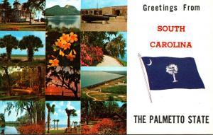 Greetings From South Carolina The Palmetto State