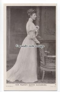 r1120 - Queen Alexandra wife of King Edward VII - postcard