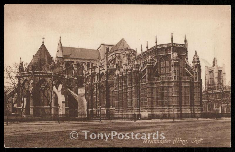 Westminster Abbey, East