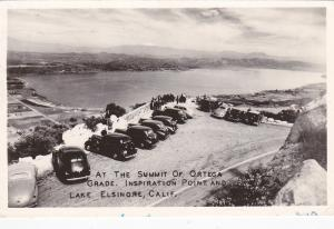 RP:Summit of Ortega Grade, Inspiration Point, LAKE ELSINORE, California, PU-1948