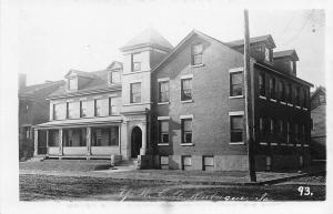 Dubuque Iowa~YWCA~Young Women's Christian Association~Built 1907~1908 RPPC