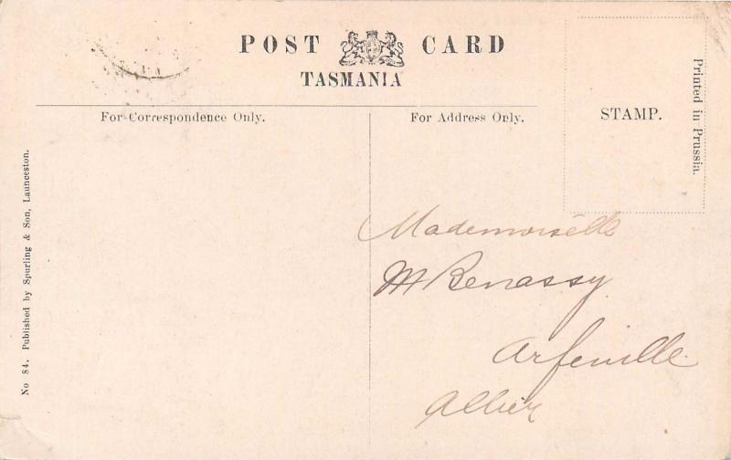 Australia Cataract Gorge from Crow`s Nest Launceston Tasmania Lake Marion stamp